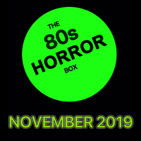The 80s HORROR Box **PRE ORDER** CRYPT SIZE (US only)