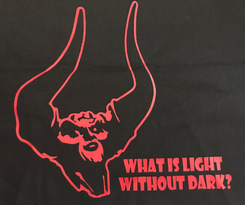 """What Is Light Without Darkness"" Tote Bag"