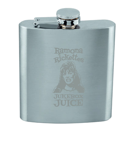 """RAMONA RICKETTS JUKEBOX JUICE"" Stainless Steel Flask"