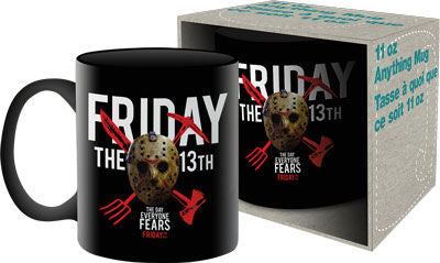 """FRIDAY THE 13TH"" Aquarius Mug - **FREE SHIPPING US ONLY**"