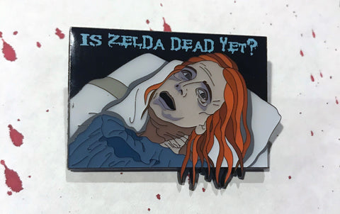"""Is Zelda Dead Yet?"" Enamel Pin"
