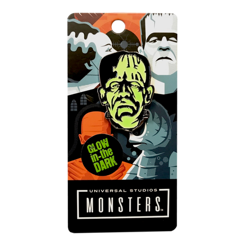 """FRANKENSTEIN MONSTER"" Glow in the Dark Enamel Pin       **FREE SHIPPING US ONLY**"