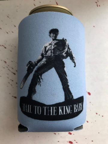 """Hail To The King"" Can Koozie"