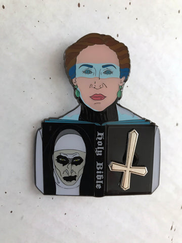 """I KNOW YOUR NAME DEMON"" Enamel Pin"