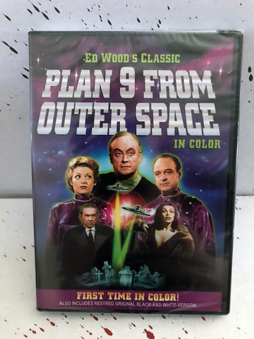 """Plan 9 From Outer Space"" DVD"