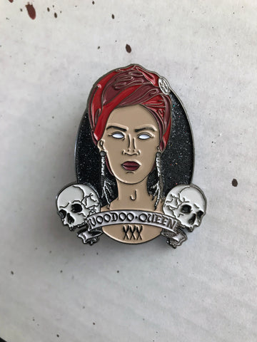 """Voodoo Queen"" Enamel Pin (Occult Box Exclusive)"