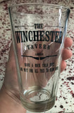 """WINCHESTER"" PINT GLASS"