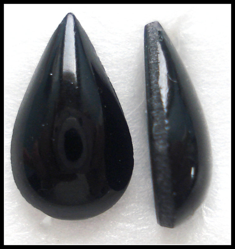 Glass Pear Shape Cabochons