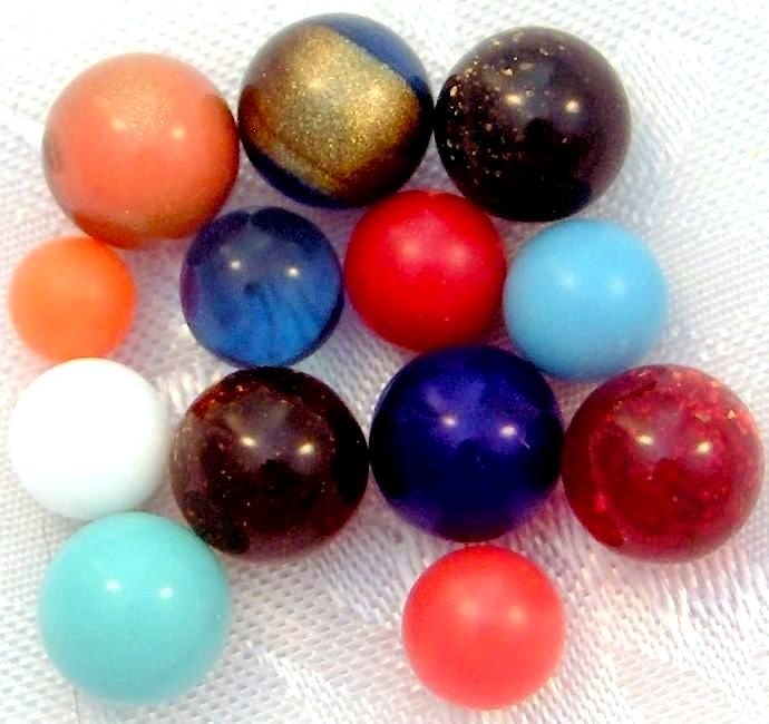 Undrilled Colored Balls