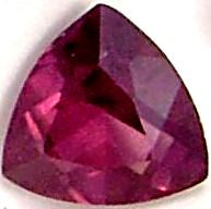 Garnet Trilliant Natural Stones
