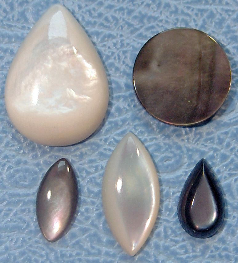 Mother of Pearl Natural Stones