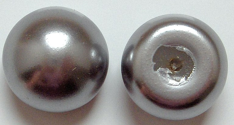 Button Top Imitation Pearls