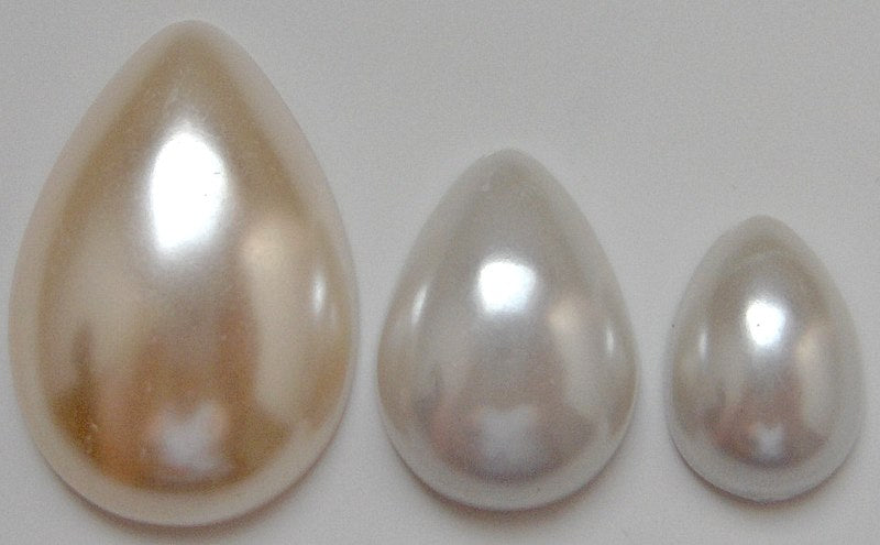 Pear Shape Imitation Pearls