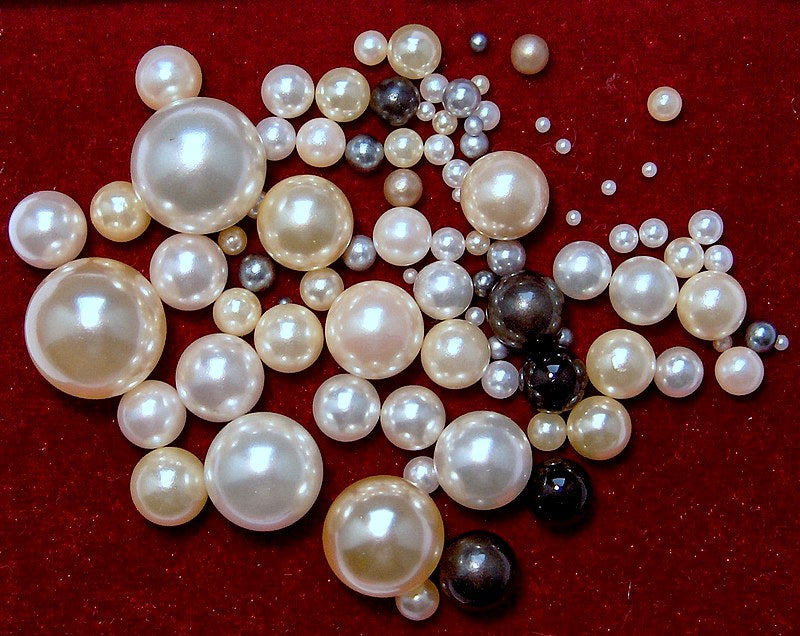 Rounds Undrilled Imitation Pearls