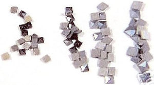 Square Marcasite Mixes (1.2-2.0mm) (natural)