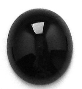 14x12mm Black Onyx Oval Cabs