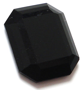 12x10mm Black Onyx Rosecut Cushion Octagons