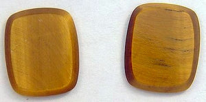 13x10mm Antique Cushion Natural Tiger's Eye