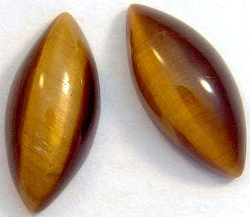 15x7mm Marquise Cab Natural Tiger's Eye