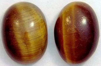 14x10mm Oval Cab Natural Tiger's Eye