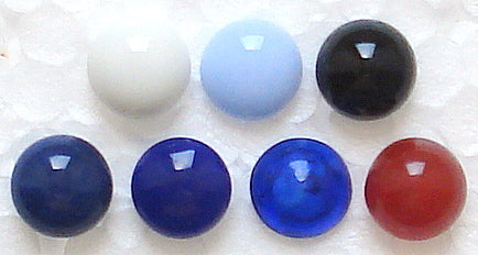 10mm (2175) Button Tops Cabochons