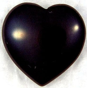 12mm Black Onyx Heart Shape Puff