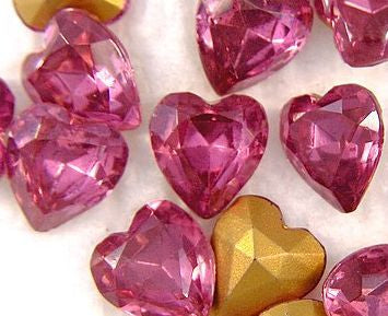 9x8mm Heart Shapes