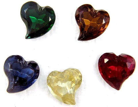 15mm Curved Fancy Heart Shapes