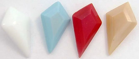 18x11mm Pointed Back Kite Shapes