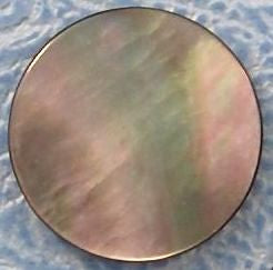 12mm Round Shape Black Tahitian Mother of Pearl