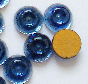 6mm Round Cabochons with Center Hole (Specialty)