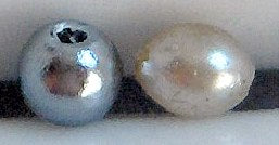 3mm Round Fully Drilled Imitation Pearls