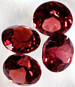 6.0mm Round Mozambique Faceted Garnets