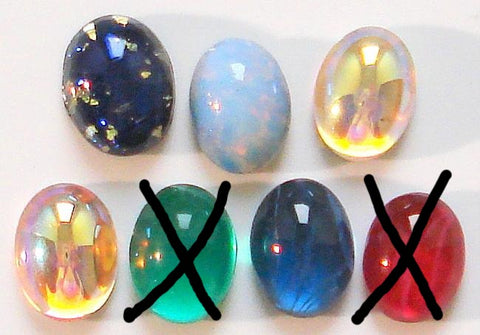 8x6mm (1685) Oval Cabochons (Specialty)