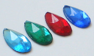 10x6mm (2320/2) Pear Shape Flat Backs