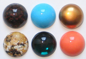 18mm Round Cabochons (Acrylic)