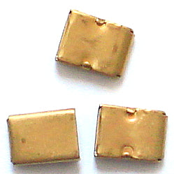 7.25mm Wide Brass Box Clasps