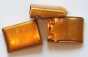 7mm Wide Copper Color Box Clasps
