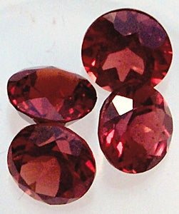 4.0mm Round Mozambique Faceted Garnets