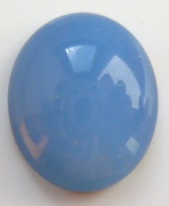 12x10mm (1685) BLUE OPAL OVAL CABOCHONS