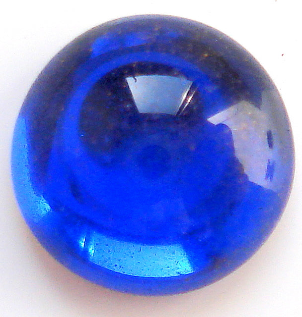 9MM CZ SAPPHIRE ROUND CABOCHONS