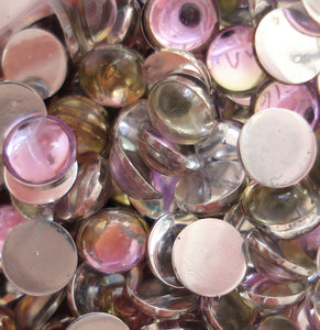 4MM (1684) VITRAIL LIGHT ROUND CABOCHONS