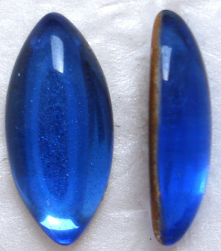 15X7MM SAPPHIRE MARQUISE CABOCHONS