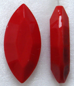 15X7MM CHERRY RED CHANNELLE CUT MARQUISES