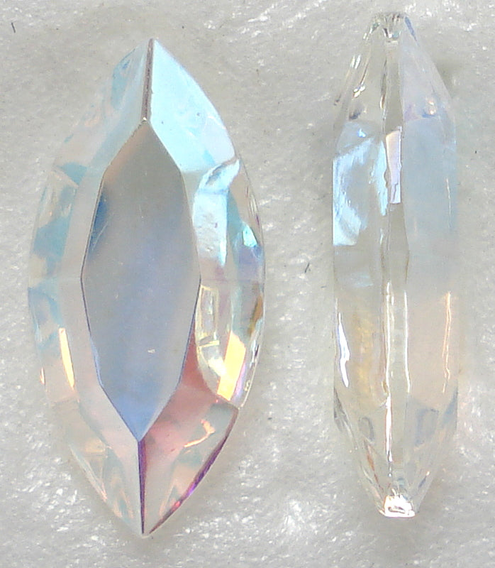 15X7MM CHANNELLE CUT CRYSTAL AB MARQUISES
