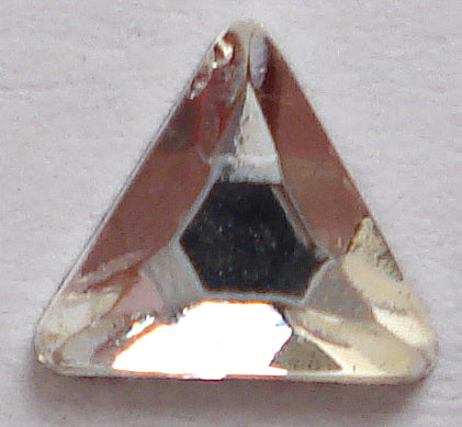 5.75MM CRYSTAL FLAT BACK TRIANGLES