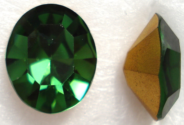12X10MM (4100) GREEN TURMALINE PB OVALS