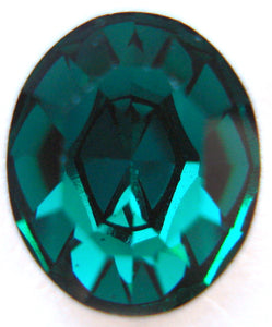 12X10MM (4100) EMERALD COLOR PB OVALS