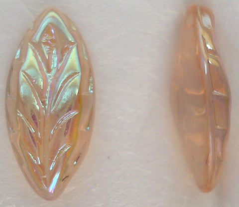 15X7MM LIGHT AMETHYST AB MARQUISE LEAVES