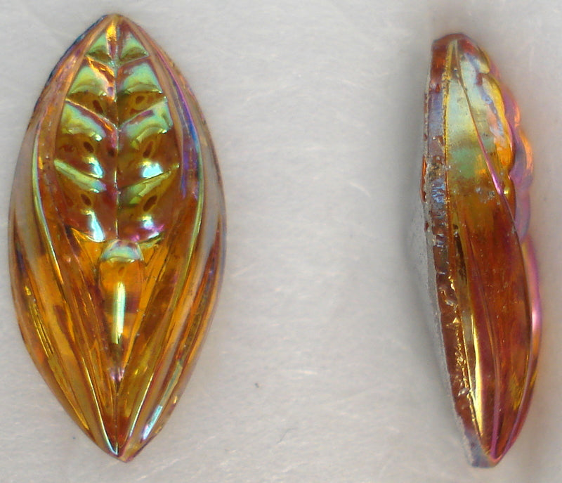 15X7MM (3146) TOPAZ AB MARQUISE LEAVES